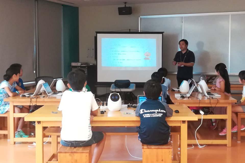 プログラミング教室@静岡科学館る・く・るの様子(1)