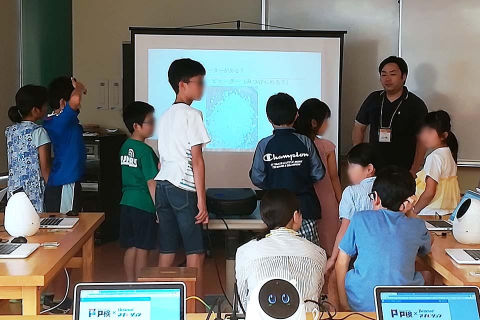 プログラミング教室@静岡科学館る・く・るの様子(2)