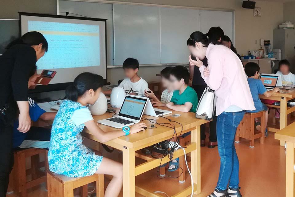 プログラミング教室@静岡科学館る・く・るの様子(4)